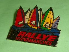 Pin's / Sport  : Voile , Rallye  40 X 32 Superbe     TB2k - Sailing, Yachting