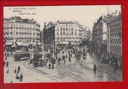 1 Cpa Carte Postale Ancienne - Madrid Puerta Del Sol - Madrid