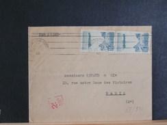 68/531    LETTRE MAROC     POUR PARIS  1946 - Marokko (1891-1956)