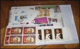 Départ 1 Euro (lot 8a) THEMATIQUE Collection De  + 100 BLOCS Séries - De Gaulle - Napoléon - Chess - Scouts - Kennedy