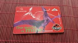 S 179 Jurassic Park Phonecard  710 A Used Rare - Belgium