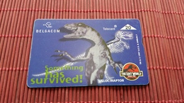 S 177 Jurassic Park Phonecard  710 B Used Rare - Belgium
