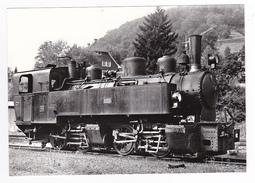REPRODUCTION Allemagne Locomotive Vapeur Maschinenbaugesellschaft Karlsruhe N°105 à Todtnau Le 29 Mai 1966 Voir DOS - Todtnau
