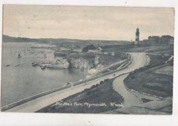 The Hoe & Pier Plymouth 1904 Postcard 166b - Unclassified