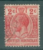 British Honduras: 1915/16   KGV    SG112    2c     Used - British Honduras (...-1970)