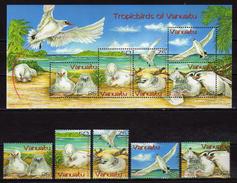Vanuatu 2004 Red-tailed Tropic Birds.stamps And S/S.MNH - Vanuatu (1980-...)