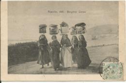 AJACCIO.....CORSE.....Bergères Corses....très Belle Carte En1906... - Ajaccio