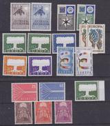 Europa Cept 1957 Year Set 9 Countries 18 Values ** Mnh (original Gum !!!) (35455) - Europa-CEPT