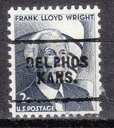 USA Precancel Vorausentwertung Preos Locals Kansas, Delphos 703
