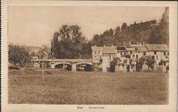 CARTE POSTALE ORIGINALE ANCIENNE : DUN SUR MEUSE  PONT SUR LA MEUSE  OCCUPATION ALLEMANDE GUERRE DE 1914/1918 MEUSE (55) - Dun Sur Meuse