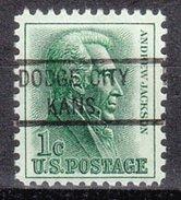 USA Precancel Vorausentwertung Preos Locals Kansas, Dogde City 821