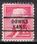 USA Precancel Vorausentwertung Preos Locals Kansas, Downs 729