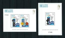 Belice  Nº Michel  HB-12/3  En Nuevo - Belice (1973-...)