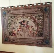 Painel Du XIX Siècle Tapisserie De Beauvais Avec 220X160cm. Un Intemporel Et Un Investissement Pour L'avenir. - Rugs, Carpets & Tapestry