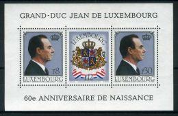 LUXEMBOURG ( BLOC ) : Y&T N°  13  BLOC  NEUF  SANS  TRACE  DE  CHARNIERE , A  VOIR .