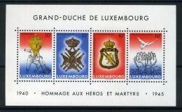 LUXEMBOURG ( BLOC ) : Y&T N°  14  BLOC  NEUF  SANS  TRACE  DE  CHARNIERE , A  VOIR .