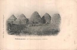04 FORCALQUIER LES CABANONS POINTUS CARTE PRECURSEUR PAS CIRCULEE - Forcalquier