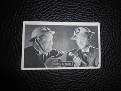 Chromo Kwatta  4,5 X 8 Cm  Nr  B. 187  Laurel & Hardy - Chocolat