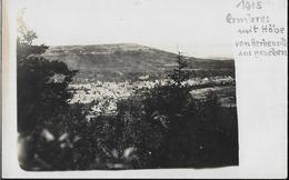 CARTE PHOTO POSTALE ORIGINALE ANCIENNE : 1915 HERBEUVILLE BOMBARDEMENT ALLEMAND GUERRE 1914/1918 MEUSE (55) - Photographie