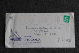Lettre LLORET DE MAR - Hotel FRIGOLA - D'ESPAGNE à FRANCE - 1991-00 Cartas