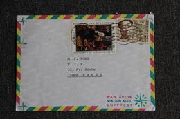 Lettre Envoyé Par Poste Aérienne Du CAMEROUN  à FRANCE - Kameroen (1960-...)