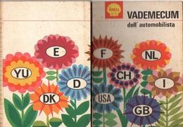 """05725 """" SEGNALETICA ED EDUCAZIONE STRADALE - SHELL VADEMECUM DELL'AUTOMOBILISTA - 1968"""" OPUSCOLO PUBBLICITARIO ORIGINALE - Automobili"""
