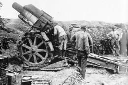 Militaria WW1 - Canon Allemand Howiser De 210 Mm - 1914-18