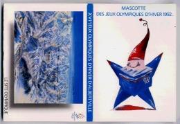 UN CARNET DE 12 CARTES POSTALE SUR LES SITES DES JEUX OLYMPIQUES D'HIVER 1992 - Sports D'hiver