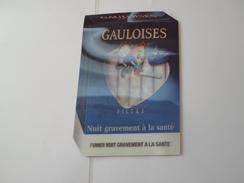TAPIS DE SOURIS  PUB TABAC  GAULOISES  BLONDES   *****   RARE  A  SAISIR ***** - Objets Publicitaires