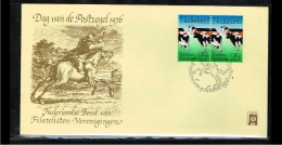 1976 - Netherlands Cover Stamps Day Nr.9 With NVPH 2x1052 - Amsterdam - [B16_043] - Period 1949-1980 (Juliana)