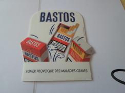 TAPIS DE SOURIS  PUB TABAC  BASTOS  *****   RARE  A  SAISIR ***** - Objets Publicitaires
