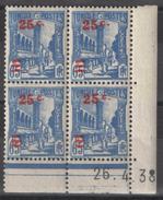 Tunisie - YT 231 Coin Daté 26.4.38 ** - Ungebraucht