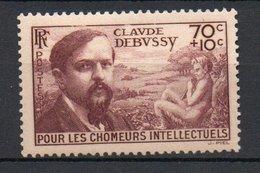 FRANCE 1939 - Au Profit Des Chomeurs Intellectuels - N° 437** - France