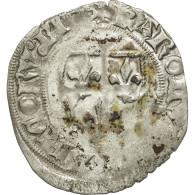 France, Charles VI, Blanc Guénar, Tours, TTB, Variété, Billon, Duplessy:377A - 1380-1422 Charles VI Le Fol