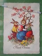 Kov 1091 - Joyeuses Paques, Easter, RABBIT, LAPIN, Ed. Kruger, - Easter