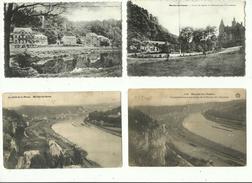 Marche Les Dames ( 4 Cartes Au Petit Format ) - Namur