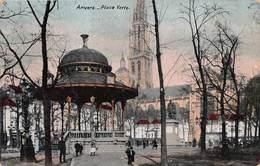 Antwerpen Anvers   De Groene Plaats Groenplaats   Place Verte  Prachtige Kiosk  Kiosque          X 1216 - Antwerpen