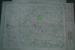 87 - MAGNAC LAVAL- PLAN TOPOGRAPHIQUE 1965- LE DORAT-DOMPIERRE LES EGLISES-DINSAC- N° 1-2- ESCURAT- RARE - Mapas Topográficas