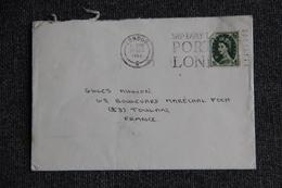 Lettre Envoyée De LONDRES à PARIS - Covers & Documents
