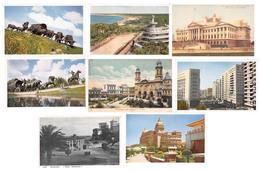 Lot De 8 Cartes CPA De Montevideo Uruguay - Bon état Général - Toutes Scannées - Uruguay