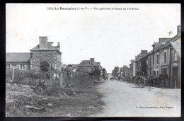 LA BAUSSAINE 35 - Vue Générale Et Route De Tinténiac - France