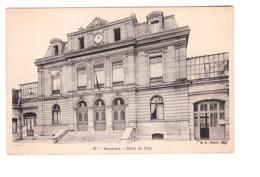 92 Sceaux Hotel De Ville Cpa Carte Non Voyagée - Sceaux
