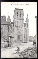 DOMAGNE 35 - L'Eglise - Animée - France