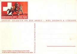 SUISSE 1940.- CARTE POSTALE MILITAIRE DE L'ARMÉE AU PROFIT DES SOLDATS ET LEURS FAMILLES - Cartas