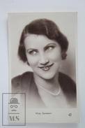 Old Real Photo Postcard - Miss Germany 1935 - By Studio M. Pergay - Postales