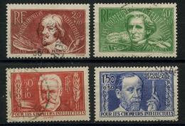 France (1936) N 330 à 333 (o) - France
