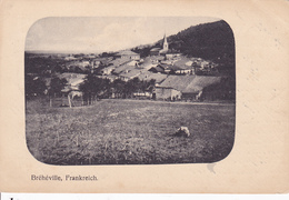 Bréhéville  Carte Allemande Feldpost - France