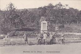 Montsec Bismarckdenkmal  Carte Allemande Feldpost - Francia