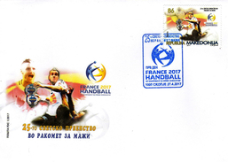 Macedonia / 2017 / FDC / SPORT - The 25th World Championship In Men Handball - Macedonia