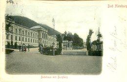 Bad Harzburg - Badehaus Mit Burgberg 1902 (000011) - Bad Harzburg